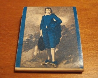 Vintage Matchbook, Blue Boy Motor Hotel, Vancouver, Canada