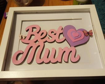 Best Mum Box Frame perfect for Mothers Day