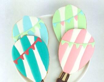 Hot Air Balloon Adventure Sugar Cookies
