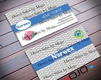 Norwex Personalized Business Card sku12