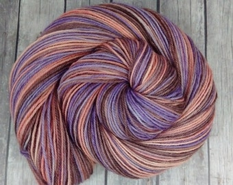 Hand Dyed BFL Sock Yarn