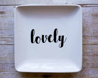 Lovely - Jewelry Dish
