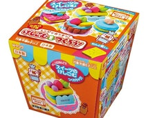Japanese Popular DIY Kit !! Kutsuwa Kawaii Sweets Eraser Making Kit with Scented Clay - Shipping from Japan