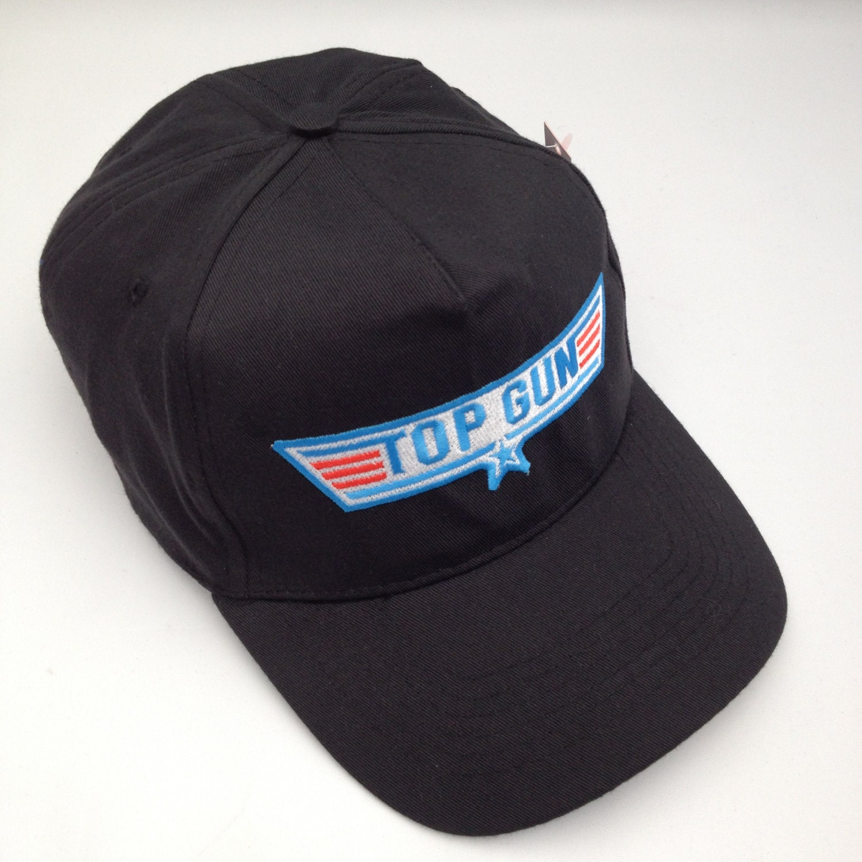 Cap Gun Top : Top gun embroidered baseball cap