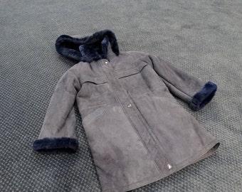 Kids Winter Outfit,Warm Mouton Jacket F217