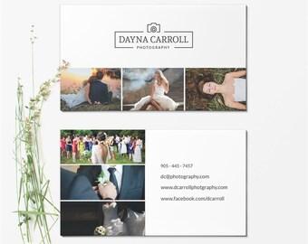 Business Card Template - Photographer Business Card - Photoshop Templates BCARD018