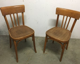 Pair of chairs Bistro 60s