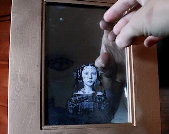 Victorian Mirror Ghost Portrait