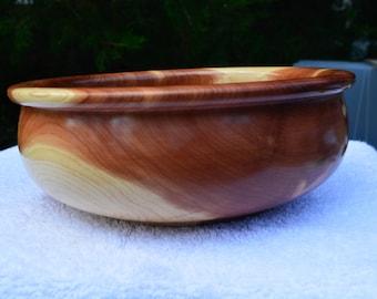 Beautiful Handmade Cedar Bowl