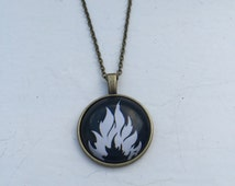 Divergent Dauntless Faction Necklace