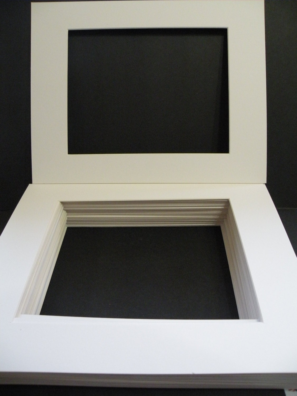 Frame Mats Frame Matting 35 Ivory Off White 11x14 Mat