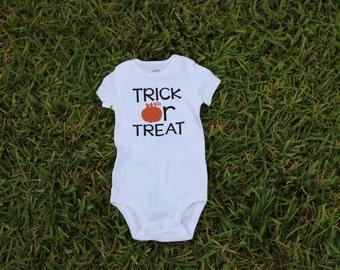 Trick or Treat Halloween Onesie