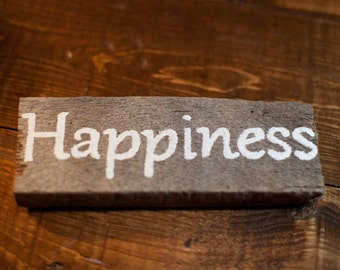 Distressed Happiness Sign