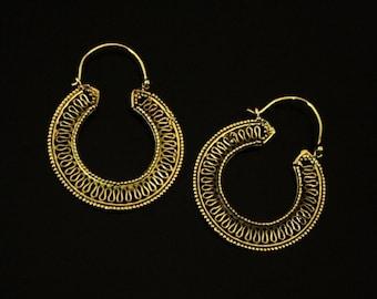 WONDERFUL brass earrings