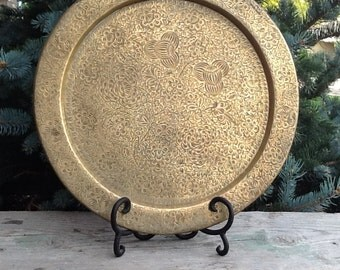 brass plate, made in India