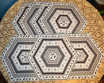 Christmas/Winter Table Runner and Placemat Set