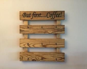 Coffee cup holder, Coffee mug holder,mug rack, cup rack, mug holder, cup holder,coffee cup rack, coffee cup holder
