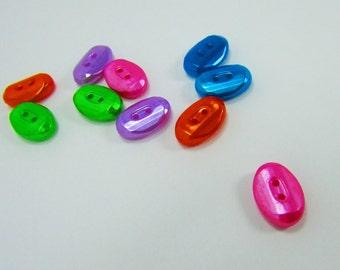 Oval Acrylic Button