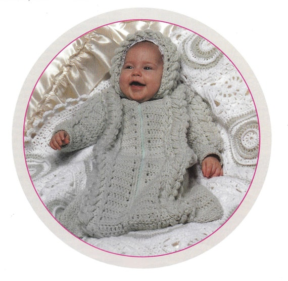 Baby Knit and Crochet Patterns Leisure Arts Leaflet 144