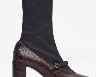 Mary Jane GoGo Boots