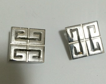 Vintage Givenchy Earrings 1977