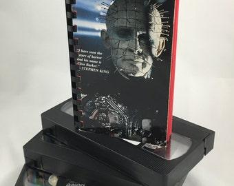 Hellraiser VHS Notebook