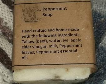 Handmade Peppermint Soap
