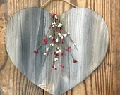 Rustic Hanging Heart