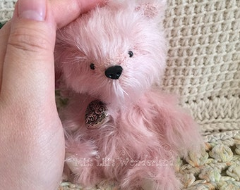 "Artist Bear ""Fluff""- Teddy bear OOAK 5.1"""