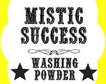 Success Washing Powder, Hoodoo Washing Powder, Success Hoodoo, Success Draw, Success Wash, Success Powder