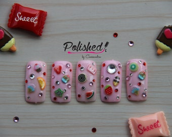 Sweet Tooth Press on Nails