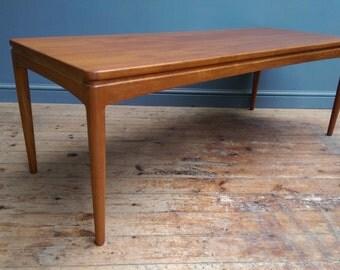 Kofod Larsen for Christian Linneberg Danish Teak Coffee Table