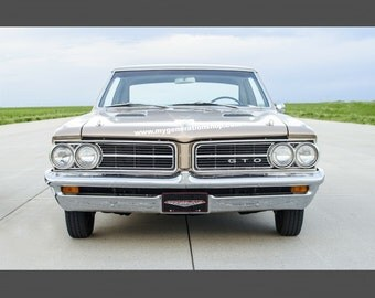 Pontiac GTO Muscle Car Poster