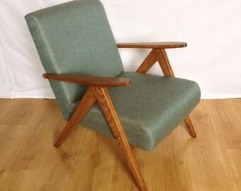 Sessel 60er Jahre, Mid Century Style, Sapin