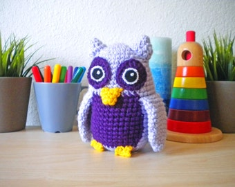 Crochet Baby Owl Stuffed Animal