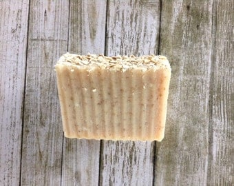 Oatmeal + Honey Cold Process Soap