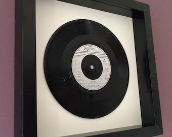 """Kool & The Gang """"Cherish"""" - Framed Vinyl Gift"""