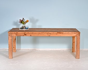 Table STEPHAN from recycled planks