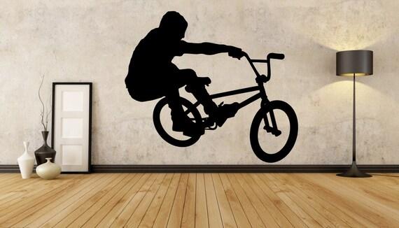 BMX Wall Decal BMX Wall Sticker BMX Sticker Bmx by ...