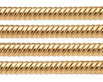 1 FT 2 mm 14K Gold Filled Snake Chain (GF20S) Price Per Foot