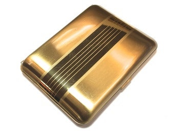 50s Gold Cigarette Case | Elgin American