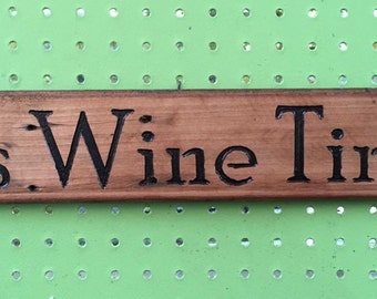 Wine Barrel Stave Signs, Personalized Sign,Wooden  Sign, Wine Lover, Wine Decor, Home Decor, House Warming , Bar Decor, Mother's Day Gift