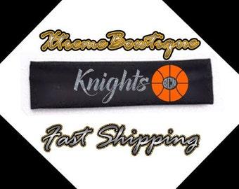 Basketball Headband, Monogram Basketball, Personalized Basketball Headband, Team Headbands, Basketball Team Headbands, Fast Shipping