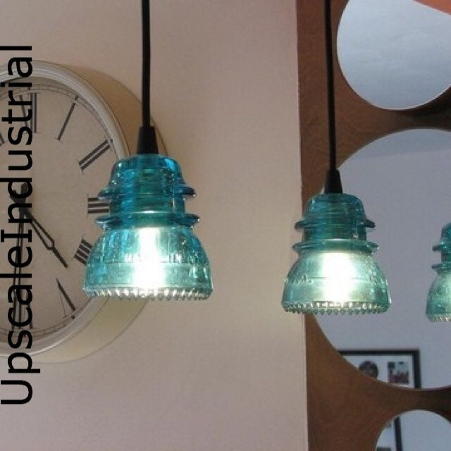 Pendant Light/Glass Insulator/Kitchen Island/Lighting