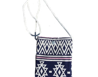 Toddler purse, mini purse, toddler cross body bag, toddler bag, coin purse, pouch, Aztec Sling
