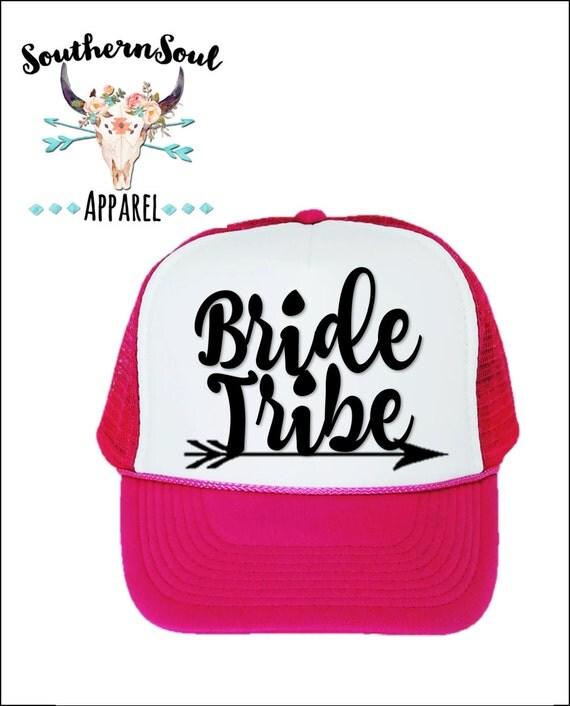 Bride Tribe Arrow Trucker Hat // Baseball Cap // Summer Hat // Mesh Back Hat // Party Hat // Country Hat