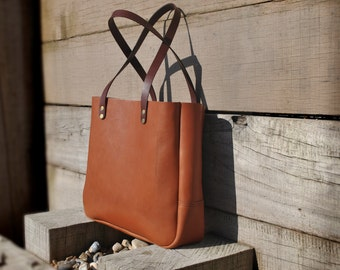 Italian Leather Tote Bag, Premium Leather Tote , Leather Purse, Leather Diaper Bag, Leather Shoulder Bag, Leather Bag