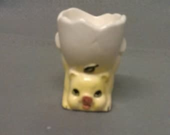 Yellow Pig Egg Cup