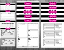 Direct Sales Printable Planner Pure Romance, Thirty One, Paparazzi, Perfectly Posh, Pink Zebra, Avon, Pink Papaya, Damsel in Defense
