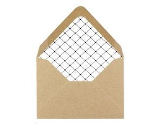 Printable Envelope Liner/Patterned Backer 8.5 x 11 - INSTANT DOWNLOAD